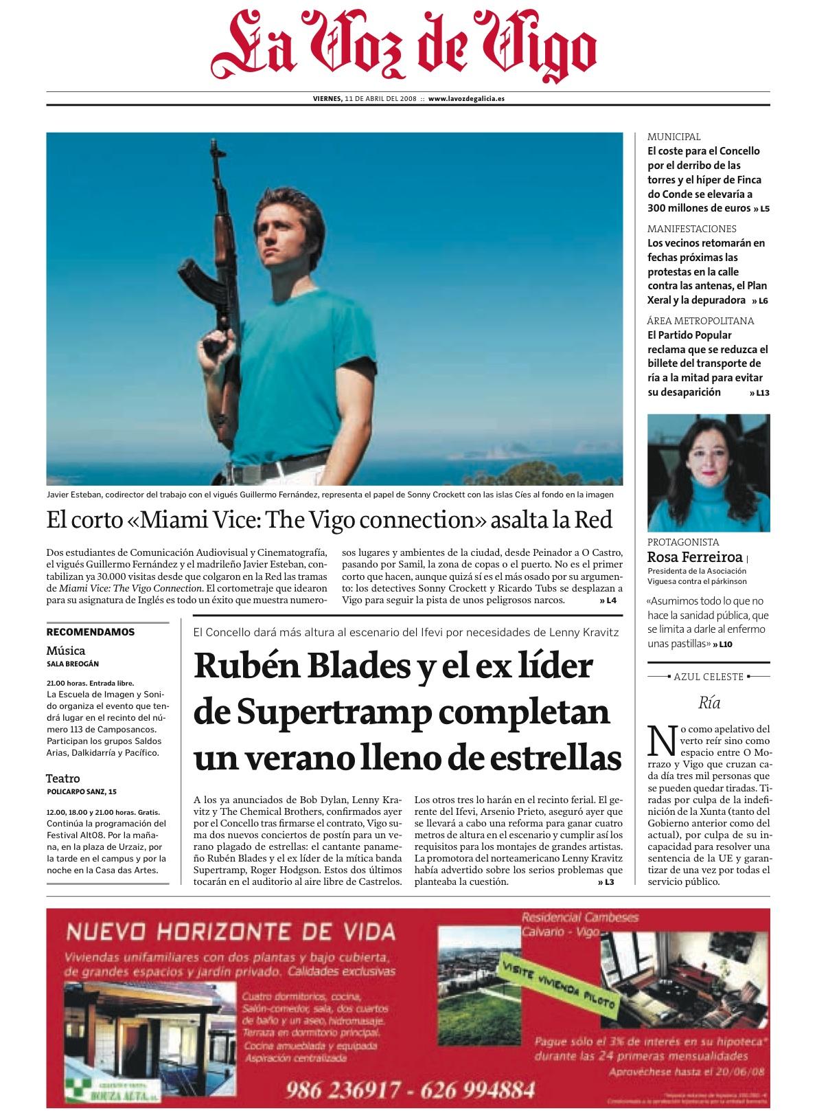 The Vigo Connection en portada