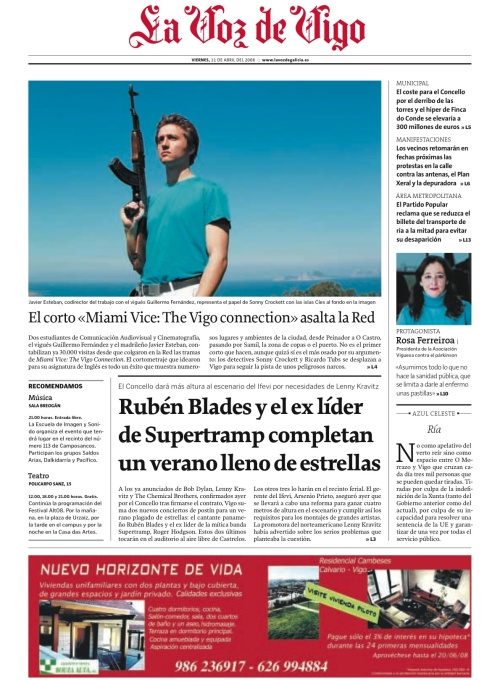 The Vigo Connection en portada