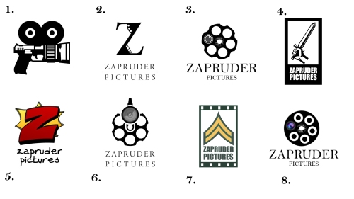 Zapruder Pictures en ocho logotipos