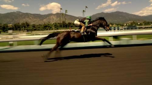 Luck se ha rodado en el hipódromo de Santa Anita en Los Ángeles.
