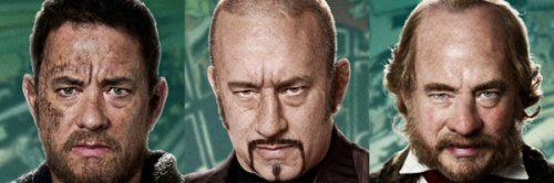 Tom Hanks y sus looks bizarros en Cloud Atlas