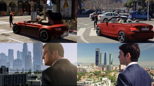 Grand Theft Auto V cobra vida en GTA: Madrid
