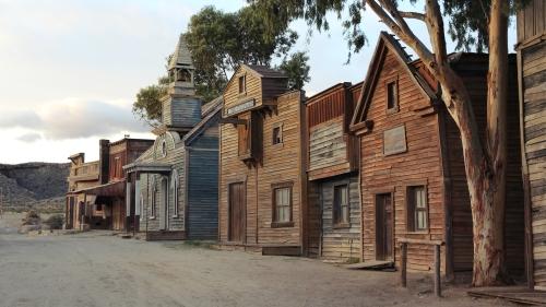 Una réplica perfecta del pueblo de Armadillo en Red Dead Redemption.
